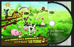CD bruitages Les animaux de la ferme